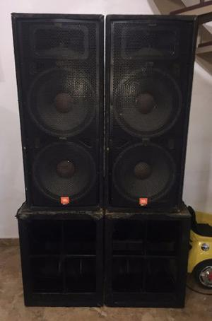 Sonido Profesional Completo Jbl Peavey Qsc Dod
