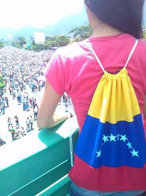 Bolsitos Tricolor, Bandera De Venezuela, Bolsos Bandera Tula