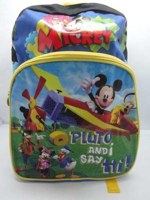 Bolso Morral Escolar Mickey Mouse