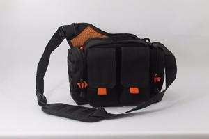 Bolso Tactico 2 Bolsillos Negro Y Naranja Igual Al 5.11