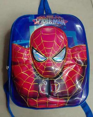 Bolsos Morral Spiderman, Capitan, Transformer, Cars, 3d