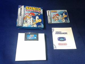 De Colección Sonic Advance - Juegos De Game Boy Advance