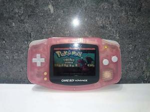 Game Boy Advance Con Juego Original Pokemon Firered
