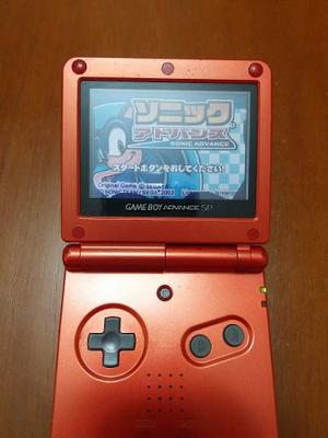 Game Boy Advance Sp + 4 Juegos + Accesorios