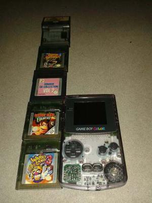 Game Boy Color Nuevo!!! Con 5 Juegos