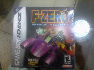 Juego Game Boy Advance F-zero (nuevo De Paquete) Original