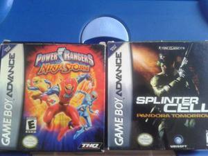 Juegos De Gameboy Advance Genericos (precio Por Los 2)