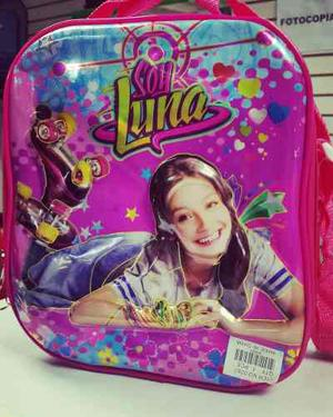 Lonchera Bolso Soy Luna En Relieve 3d