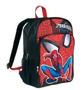 Morral Escolar Spiderman Nuevo Importado
