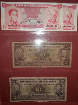 Coleccion de Billetes Vnzla