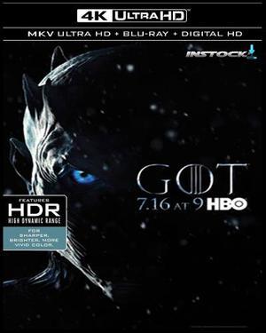 Game Of Thrones Temp 7 Cap-1 Al 6 Hd Calidad Bluray Instock