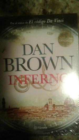 Libro Inferno Dan Brown. Original Nuev