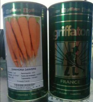 Semillas De Zanahoria Danver 250 Mil Semillas