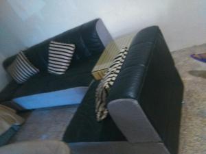 Vendo Muebles Modulares de Cuero Fino