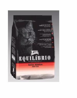 Alimento Para Gatos Marca Equilibrio 1,5 Kgs