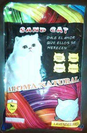 Arena Para Gatos Sand Cat 4 Kg Importada