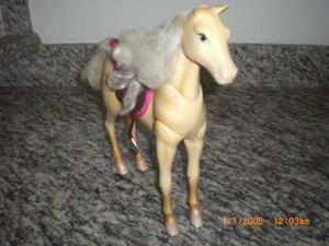 Caballo De Barbie De Equitacion