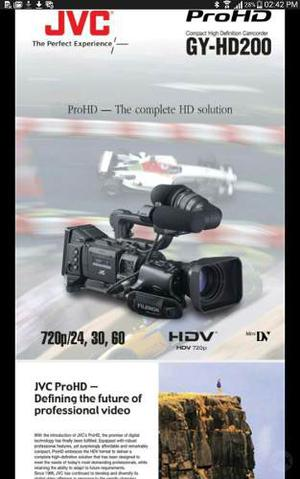 Camara De Video Profesional Jvc Formato Mnidv Y Full Hd