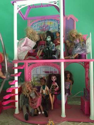 Casa De La Barbie Usada