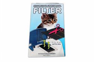 Filtro Universal De Carbón Para Areneros Medidas 16 X15,5