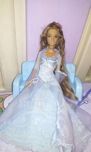 Hermosa Barbie 'reina De Las Nubes'