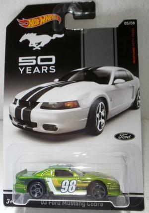 Hot Wheels Ford Mustang Cobra th Anniversary