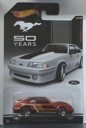 Hot Wheels Ford Mustang th Anniversary
