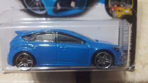 Hotwheels Ford Focus Rs - Clásico Azul