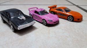 Lote De 3 Hotwheels Rápido Y Furioso 1 Y 2