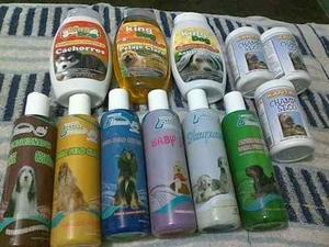 Shampoo Liquido Y Seco Para Perros Y Gatos.