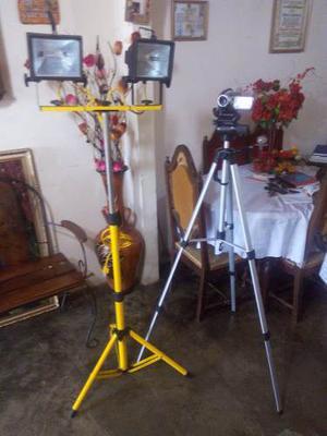 Video Cámara Vdr-230, Tripode Para Camara, Reflector Doble