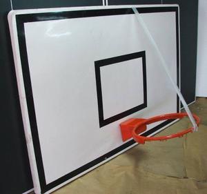 Tablero De Basket Fibra Vidrio Profesional