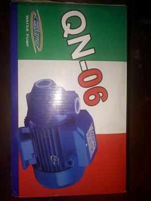 Bomba De Agua De 1/2 Caballo Marca Qn-06 Nueva