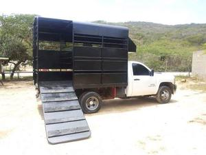 Jaula Trailer Caballos 350 Camion Fabrica