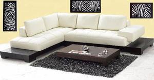 Muebles Minimalistas Sofa Modular De Lujo