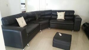 Muebles Modulares Juego Completo Color Negro
