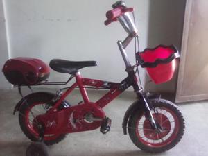 Bicicleta del hombre araña rin 12