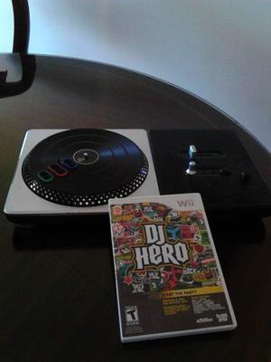 Consola Dj Hero, Original Para Nintendo Wii