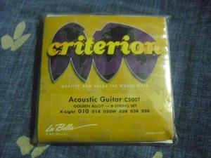 Cuerdas de Guitarra Folk La Bella USA