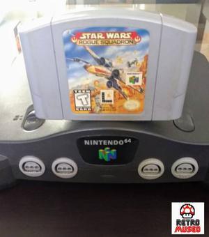 Juego Star Wars Rogue Squadron Para N64