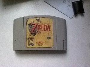 Legend Of Zelda Ocarina Of Time N64