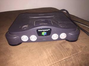 Nintendo 64 Con 2 Controles Y 5 Juegos