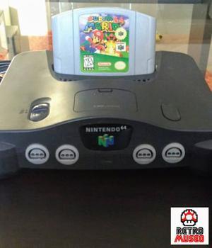 Nintendo 64 Con Super Mario 64