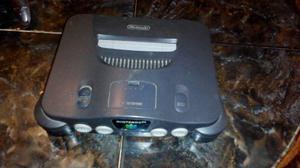 Nintendo 64 Con Sus Cables. 2 Controles, 2 Cintas