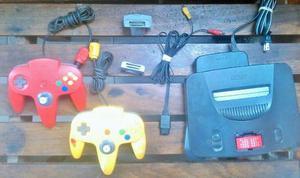 Nintendo 64 Y 2 Controles