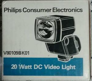 Philips Foco Lampara Halogena 20w Para Camara Foto / Video