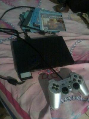 Play 2 Con Un 1 Control Y Memoricard