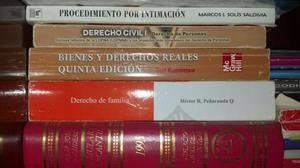 Se Venden Libros de Derecho