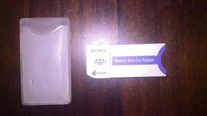 Adaptador Memory Stick Duo Marca Sony 100% Original