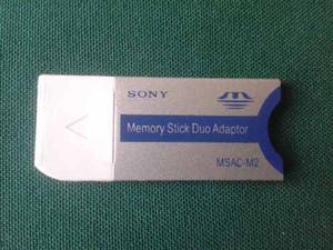Adaptador Memory Stick Sony Pro Duo *nueva*